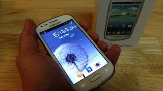Video Review Samsung Galaxy S III Mini -  Análisis Galaxy S III Mini