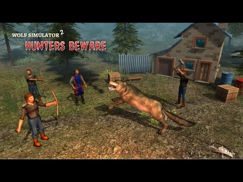 Wolf Sim 2: Hunters Beware - Android Gameplay HD