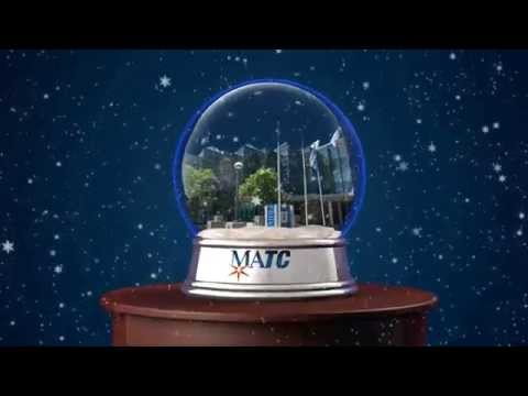 """2014 Milwaukee Area Technical College Holiday Card - """"MATC Gives"""""""