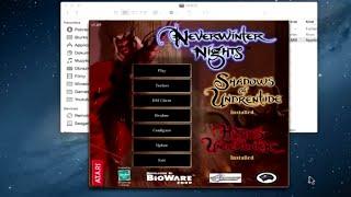 How to Install Neverwinter Nights Diamond Edition on MAC? Walkthrough/Tutorial