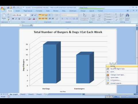 how to create time graphs in excel 2007