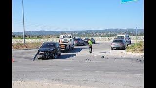 Ezine de trafik kazası 8 Yaralı