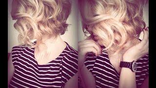 видео Как сделать кудри на средние волосы в домашних условиях