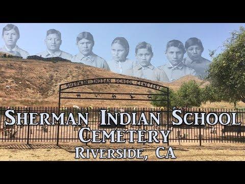 Exploring Sherman Indian School Cemetery, Riverside, CA