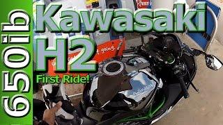 Kawasaki H2 First Ride Motovlog: ZX14R & ZX10R SMACKDOWN!!!