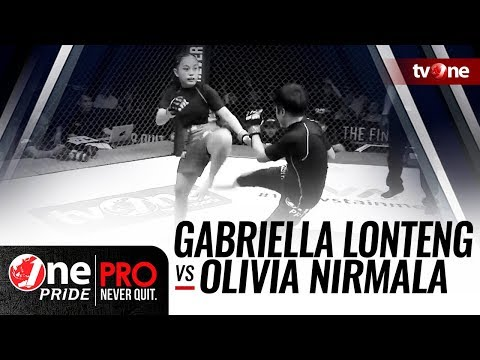 [HD] Gabriella Lonteng vs Olivia Nirmala || One Pride Pro Never Quit #25 Mp3