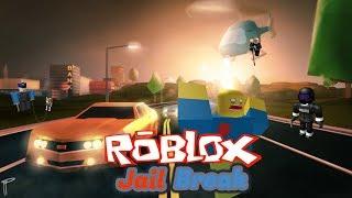 Craziest police chase Roblox Jailbreak!!