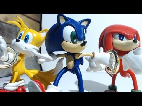 Figure Review: Resaurus Sonic, Tails, and Knuckles (Series 1)