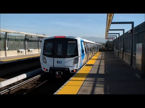 BART: First Ride on the Fleet of the Future: MacArthur - Union City