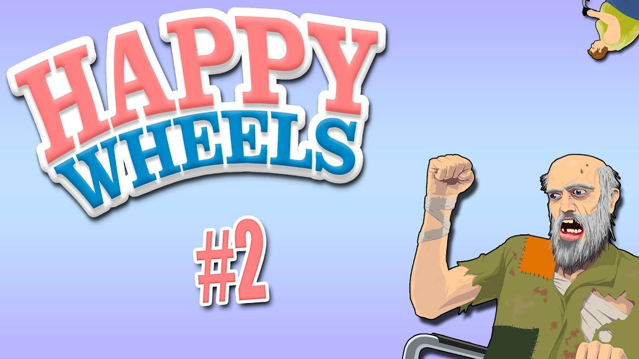 страстный охотник Happy Wheels 2 Youtube