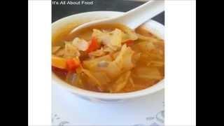 Cabbage Soup/ Wonder Soup