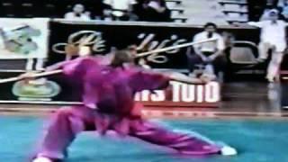 Park Chan Dae - Wushu Worlds' 1993 - Gun Shu