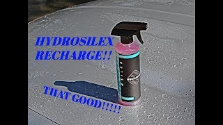 Hydrosilex Recharge: REVIEW, WATER BEADING, DURABILITY TEST