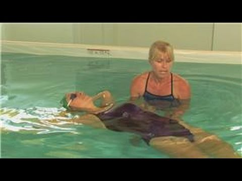 Swimming Tips How To Float On Your Back Youtube