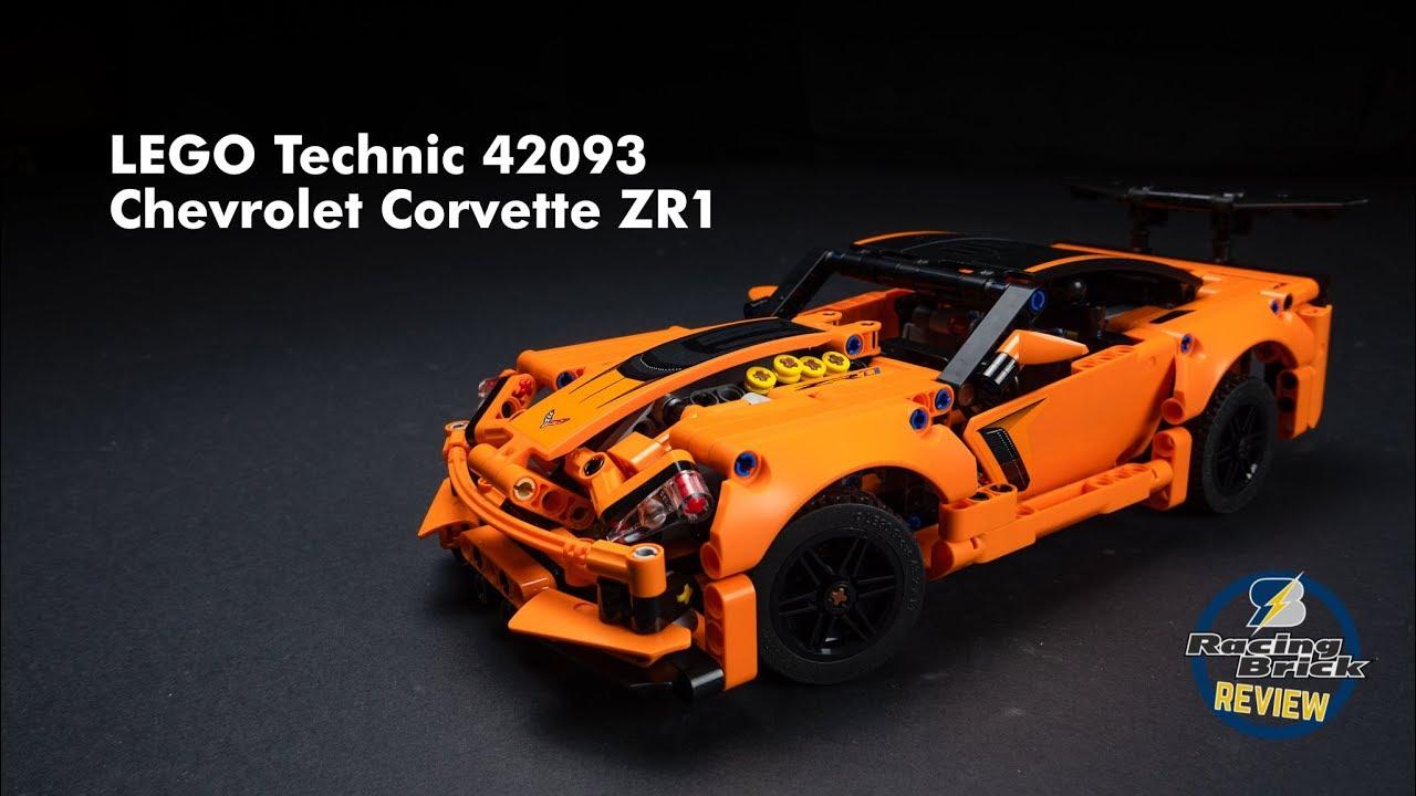Lego Technic 42093 Chevrolet Corvette Zr1 Unboxing Speed