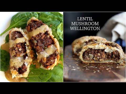 VEGAN WELLINGTON  With Mushrooms and Lentils | Vegan Richa Recipes