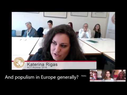 News-Decoder students discuss populism in the U.S. and Europe