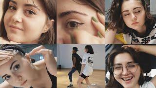 GÖKÇE ÖZGÜL - VLOG1 (Günlük Makyaj, Studyo,Dans, Klip, Alışveriş )