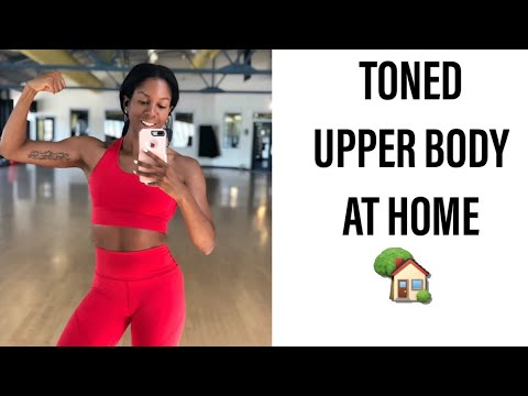 10 minute upper body workout / at home no weights  youtube