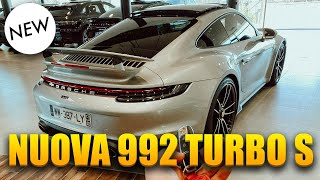 NEW PORSCHE 992 TURBO S ! REVIEW + TEST DRIVE