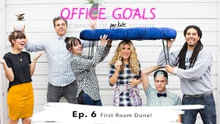 First Room Done! | Office Goals | Mr Kate | Episode 6