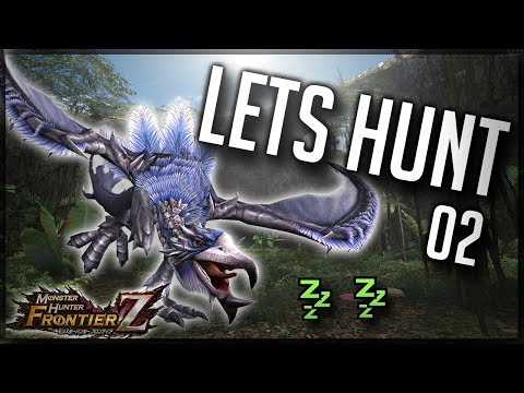 Lets Hunt 02 - HR4 Silver Hypnocatrice - Monster Hunter Frontier Z / G [MHFZ] taiwan
