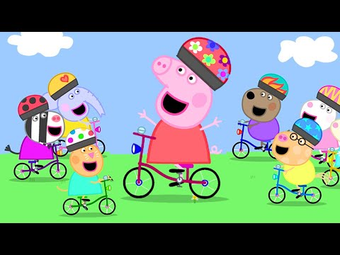 Peppa Pig Official Channel 🚴♀️ Peppa Pig's Cycling Race With Friends