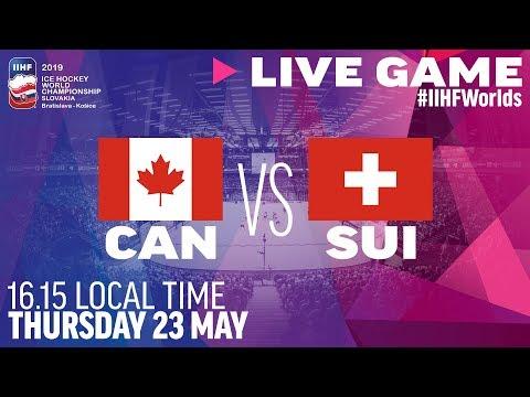 Canada-Switzerland | Quarterfinals | Full Game | 2019 IIHF Ice Hockey World Championship