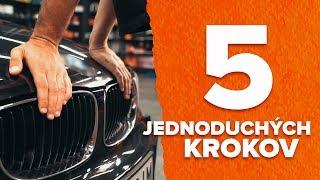 Tipy na údržbu - AUDI A3 Sportback (8PA) 1.9 TDI Pružina návod na výmenu
