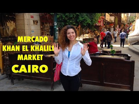 Cairo-Khan El Khalili Mercado/Market (English subtitles)