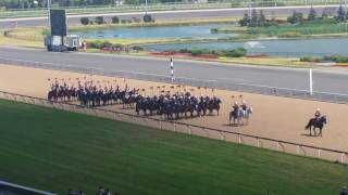 Governor Generals Horse Guard at the 2016 Queen's Plate
