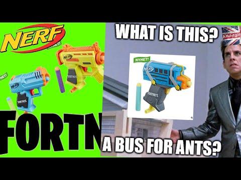 joltcast: New Fortnite Nerf Gun Battle Bus, Nerf Fotnite  Risky Reeler and HC-E Microshots