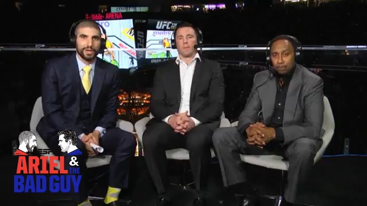 Stephen A.'s final thoughts on Khabib Nurmagomedov vs Conor McGregor | UFC 229