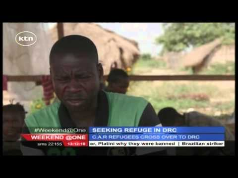 Thousands of refugees from Central African Republic seeking refuge in DRC