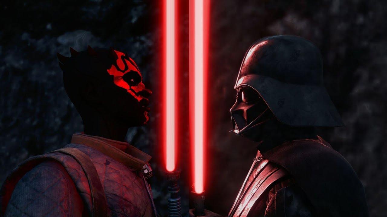 darth maul vs darth vader