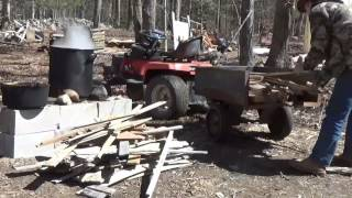 Trucker Buck From YouTube Joins The Off Grid Project For The Day