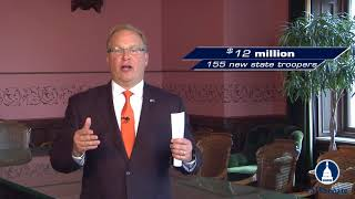 Sen. MacGregor discusses the FY 2019 Michigan budget