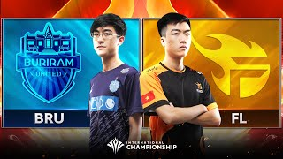 TEAM FLASH vs BURIRAM UNITED - Bảng B - AIC 2019 - Garena Liên Quân Mobile