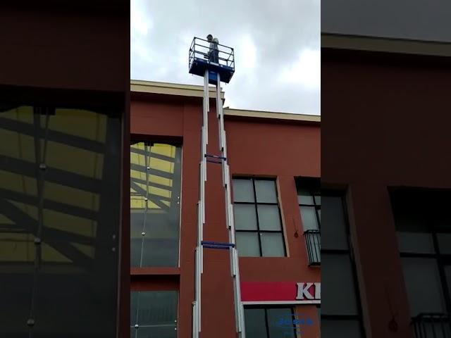 Twin Mast Vertical Lift