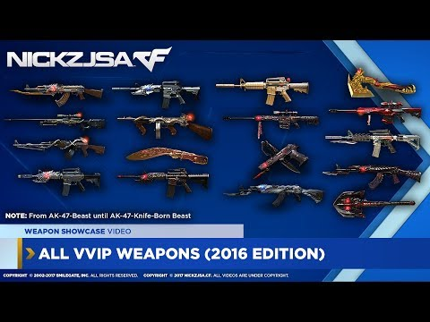 All VVIP Weapons Showcase! | CROSSFIRE