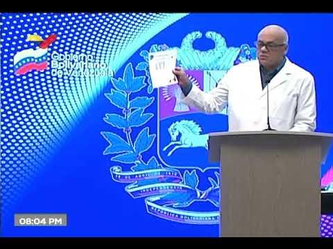 Reporte Coronavirus Venezuela, 09/06/2020: Un fallecido y 159 casos, informa Jorge Rodríguez