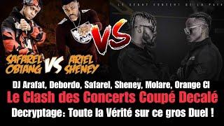 Arafat Et Debordo VS Safarel Et Ariel Sheney | Toute la Vérité sur le duel des Concerts | PRIINCE TV
