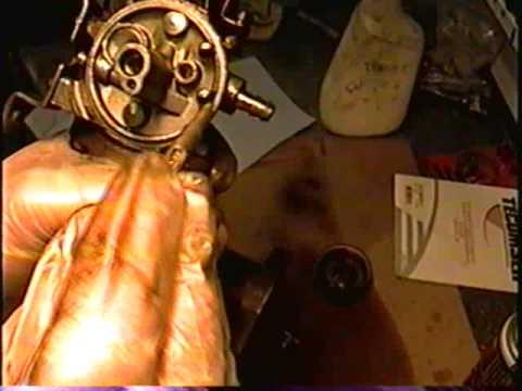 HOW TO  Clean & Rebuild Tecumseh Snowblower Carburetor PART 2 OF 4