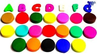 Abecedario en Español para Niños| Abecedario con Play Doh|Aprende los colores