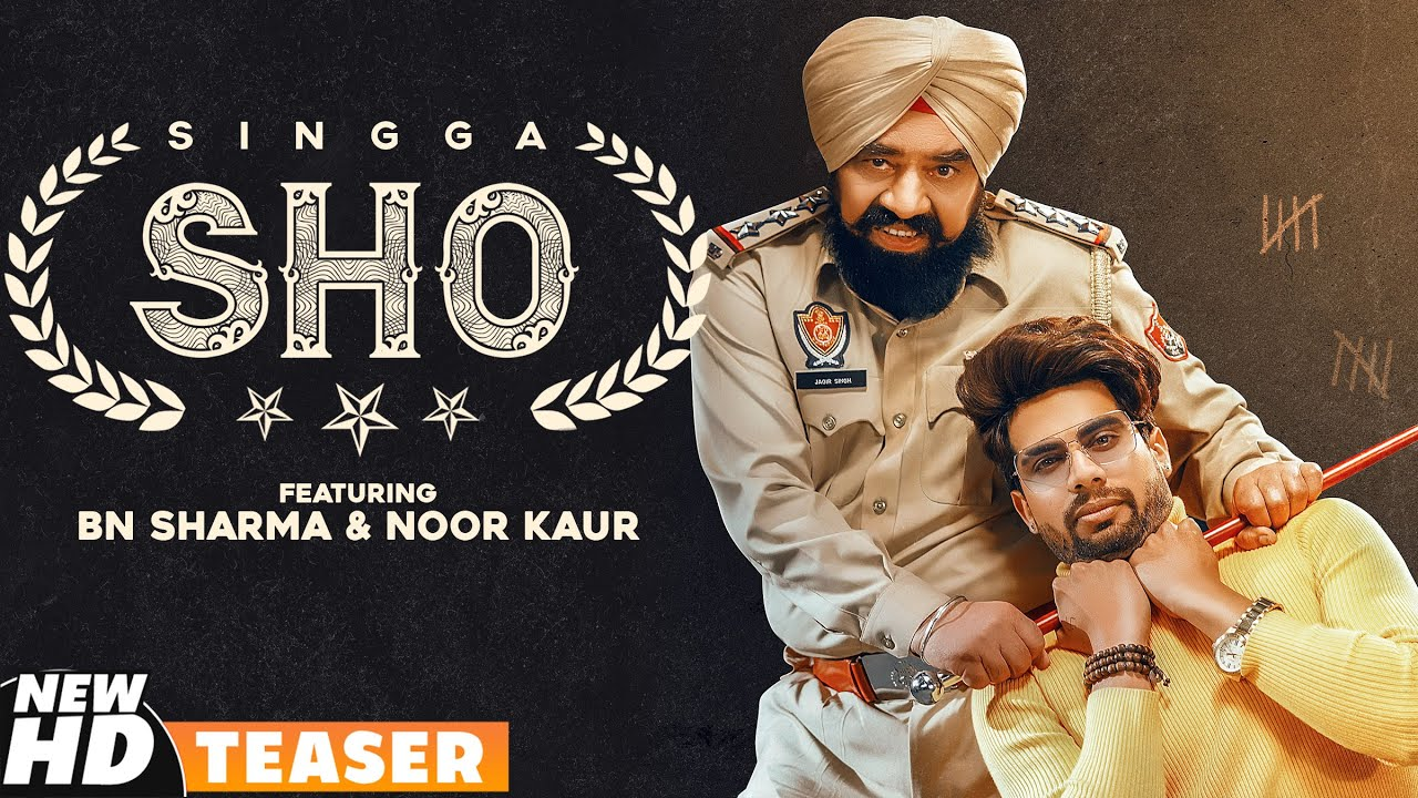 S.H.O (Teaser) | Singga ft BN Sharma | MixSingh | Latest Punjabi Teasers 2020 | Speed Records