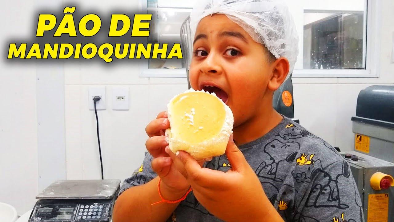 O MELHOR PÃO DE MANDIOQUINHA!   Ewerton Santana