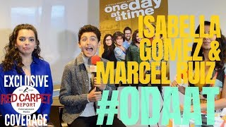 Talking to Isabella Gomez & Marcel Ruiz about S3 of One Day At A Time #ODAAT #Netflix #Interview