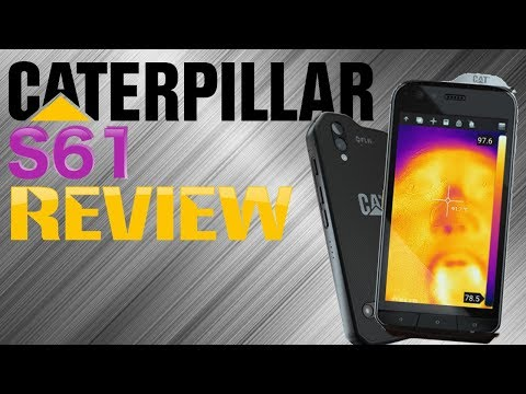 REVIEW: CAT S61 [FULL REVIEW] [THERMAL VISION AND LASERS!!]