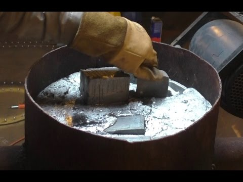 Pouring Aluminum and Lead