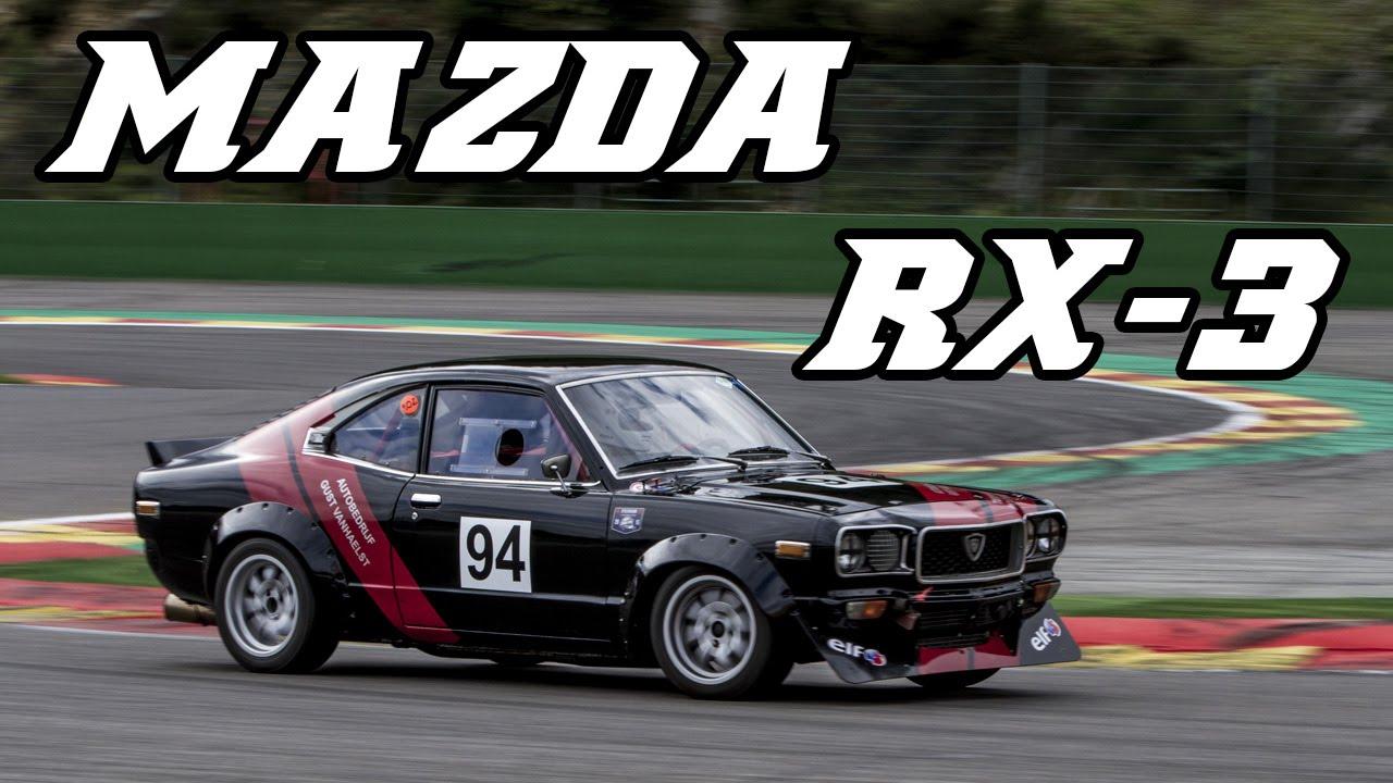 mazda rx-3 13b historic racecar at spa 2015 - youtube